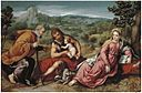 Paris Bordone - The Holy Family in a Landscape with John the Baptist.jpg