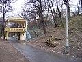 Park Jezerka, schodiště s altánem.jpg