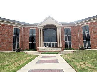 University of Mary Hardin–Baylor - The Parker Academic Center at UMHB opened in 2002.