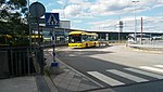Parking bus, Arland Airport - 2016.jpg