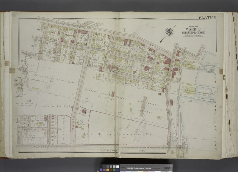 File:Part of Ward 2. (Map bound by Broad St, Bay St, Thompson St, Front St, Dock St, Vanderbilt Ave, Pleasant PL, Coursen PL, Dix PL (Elm), Hill St, Fulton St, Meadow St, Patten St) NYPL1646325.tiff