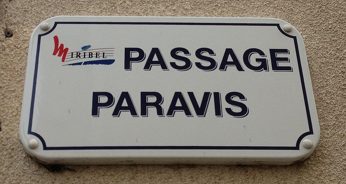 Passage Paravis à Miribel dans l'Ain.