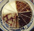 Pastry dish in a circle at a party.jpg
