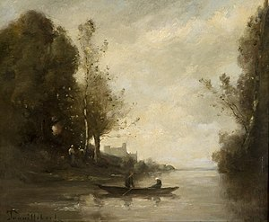 Paul Trouillebert - Image: Paul Désiré Trouillebert A quiet backwater