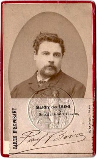 Paul Biva - Salon de 1896 exhibition card