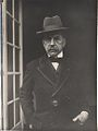 Paul Bourget à la maison de Sylvie en août 1924, Bourget, Macon, Carco, Tristan Derême.jpg