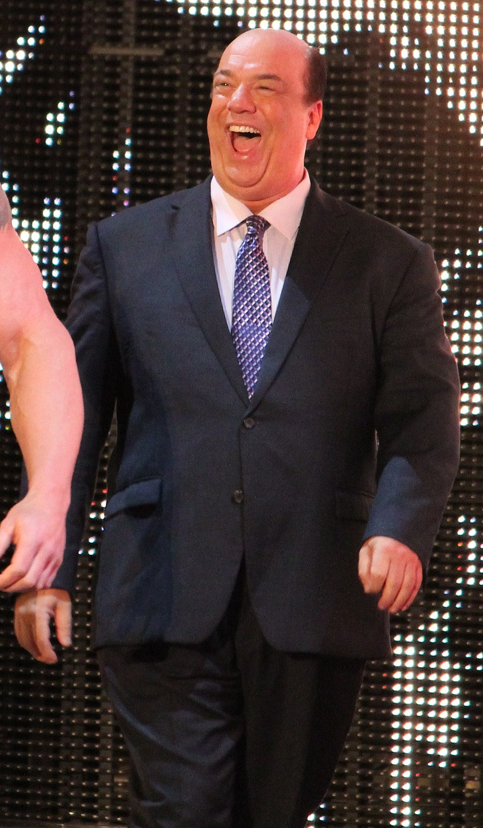 Paul Heyman is the happiest man in the world