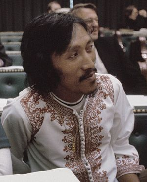 Paul Somohardjo - Paul Somohardjo in 1975