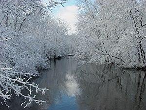 Van Buren County, Michigan - Paw Paw River in Van Buren County
