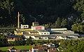 Payerbach - KG Schmidsdorf - ehem Papierfabrik Schlöglmühl dahinter die Semmeringbahn.jpg