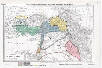 Sykes–Picot Agreement - Sykes-Picot Division