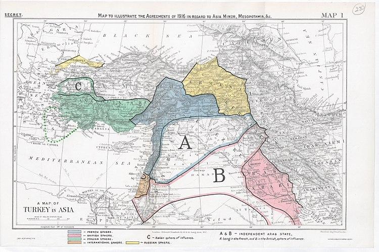 Peace conference memoranda respecting Syria, Arabia, and Palestine