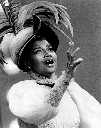 "Pearl Bailey - Bailey on The Ed Sullivan Show performing ""Before the Parade Passes By"" during her run in Hello, Dolly! on Broadway (1968)"