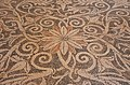 Pebble mosaic floor with floral decoration, from Ancient Sikyon, second half of 4th century BC, Archaeological Museum of Sikyon, Greece (14129309412).jpg