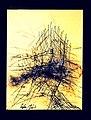 Pedro Meier chinesische Tuschemalerei, Mischtechnik und Federkiel, mehrfarbig. Nr. 35, 40×30 cm, 2015. Foto © Pedro Meier Multimedia Artist.jpg