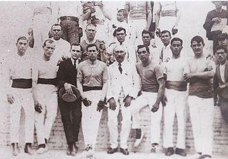 Pelayo trinquet - Pelayo professional players, 1925