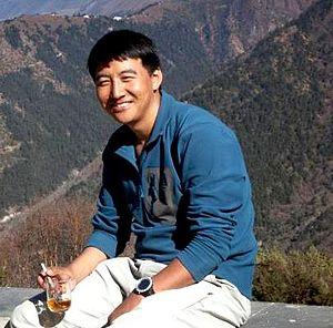 Pem Dorjee Sherpa - Pem Dorjee in 2012