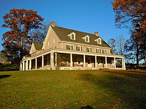 Pennypacker Mills - Southern elevation