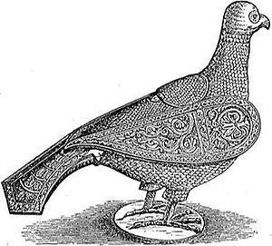 Peristerium - A peristerium shown in Meyers Konversations-Lexikon (1890).