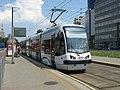 Pesa 120N 3113, tram line 9, Warsaw, 2009.jpg