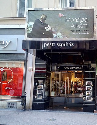 How to get to Pesti Színház with public transit - About the place