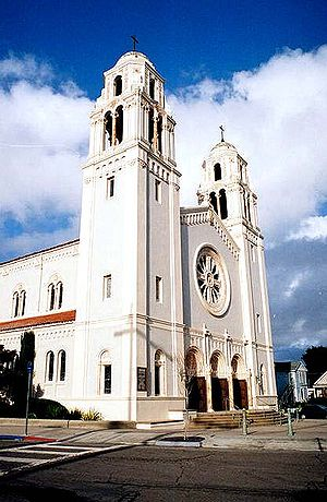 Petaluma, California - St. Vincent de Paul Catholic Church