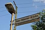 Peter-Hübotter-Brücke Architekt Peter Hübotter schuf mit seinem Vater den Stadtpark Hannover etc., 1986-2002 Vorsitzender Heimatbund Niedersachsen.jpg