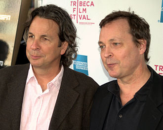 Farrelly brothers - Peter and Bobby Farrelly in the East Village, 2009.