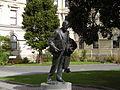 Peter Fraser statue 2.JPG