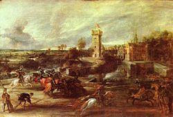 Peter Paul Rubens: Tournament near the Moats of the Château de Steen
