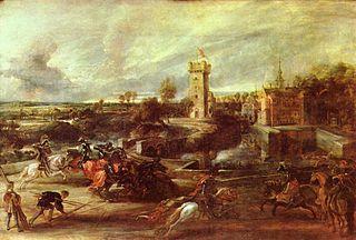 Tournament near the Moats of the Château de Steen
