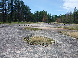 Whiteshell Provincial Park - The Bannock Point petroform site