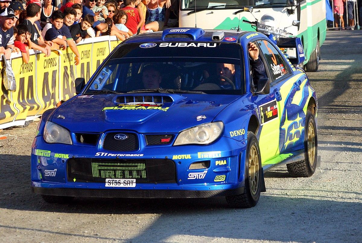 Subaru Impreza WRC - Wikipedia