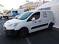 Peugeot Partner Road Inspection car and Mercedes-Benz Sprinter Police van, 2018 Terézváros.jpg