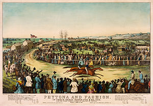 "Union Course - ""Fashion meets Peytona"" in 1845"
