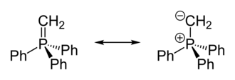Ylide - Wittig reagent resonance structures