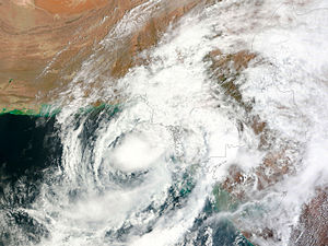 Cyclone Phet - Cyclone Phet near Pakistan on June 6