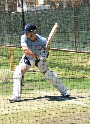 Phillip Hughes - Phil Hughes batting
