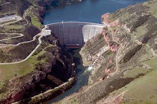 Yellowtail Dam Dam in Big Horn County, Montana