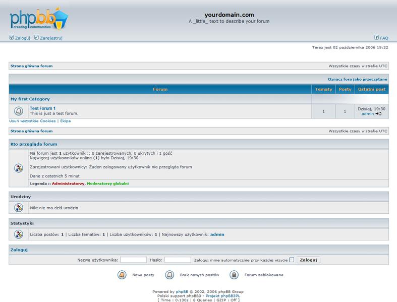 forum phpbb skrypt