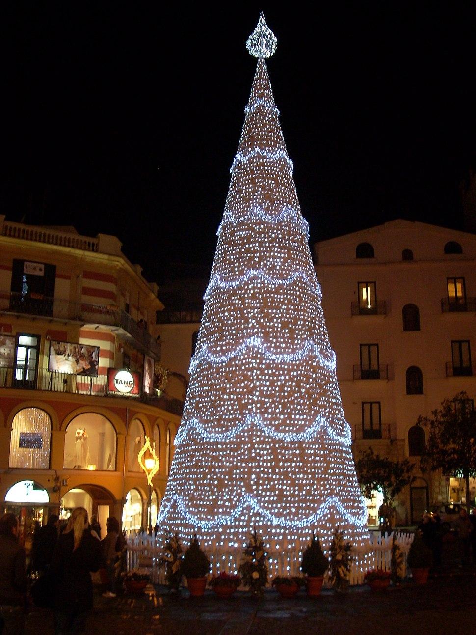 Piazza Portanova Natale 2008