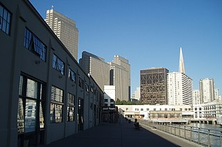 Central Embarcadero Piers Historic District United States historic place