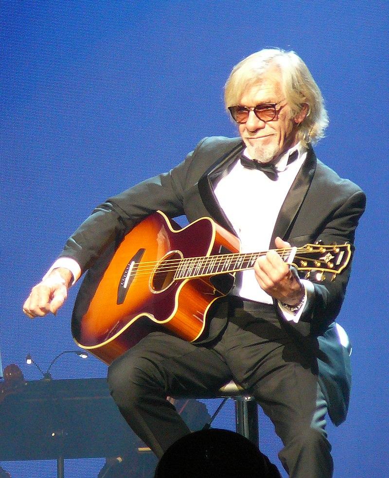 Pierre Billon lors du concert de Michel Sardou à La Seine Musicale, à Boulogne-Billancourt (France), en 2017