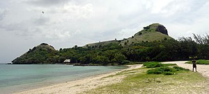 Pigeon Island (Saint Lucia) - Pigeon Island as seen from the causeway