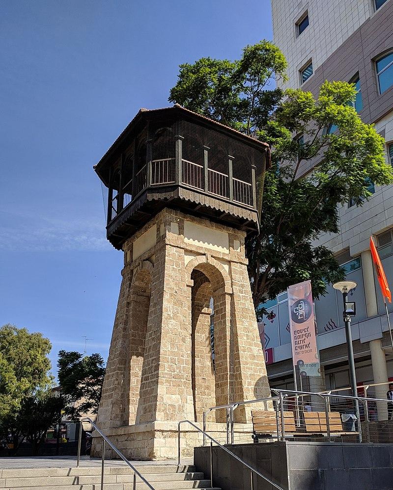 מגדל המים במרכז ראשון לציון