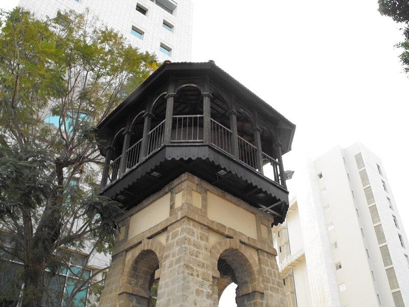 ראש מגדל המים המשוחזר בראשון-לציון