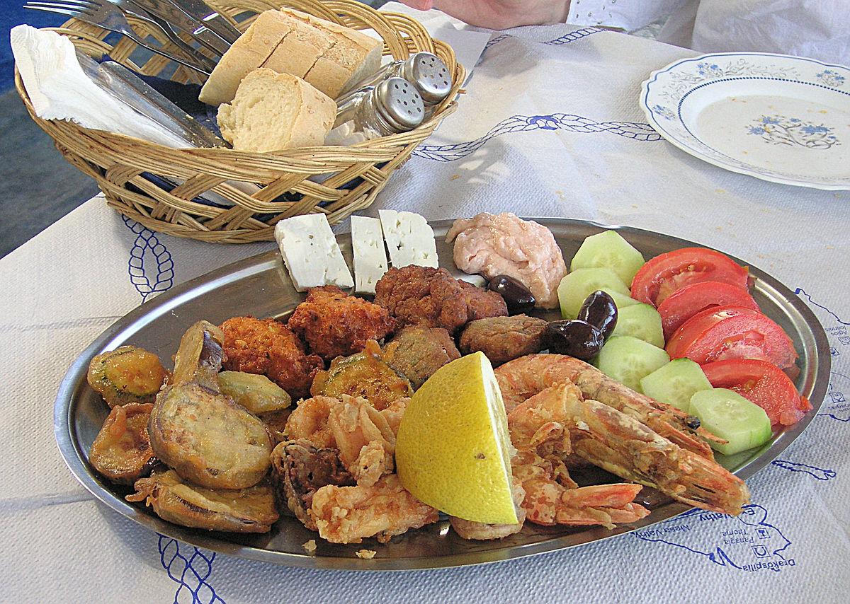 Gastronom a de grecia wikipedia la enciclopedia libre for Tipos de platos