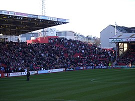 Pittodrie south stand.JPG