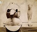 Plague apparatus from a lazaretto in Venice; an oil cloth ma Wellcome V0029672.jpg