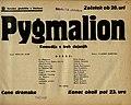 Plakat za predstavo Pygmalion v Narodnem gledališču v Mariboru 28. oktobra 1939.jpg